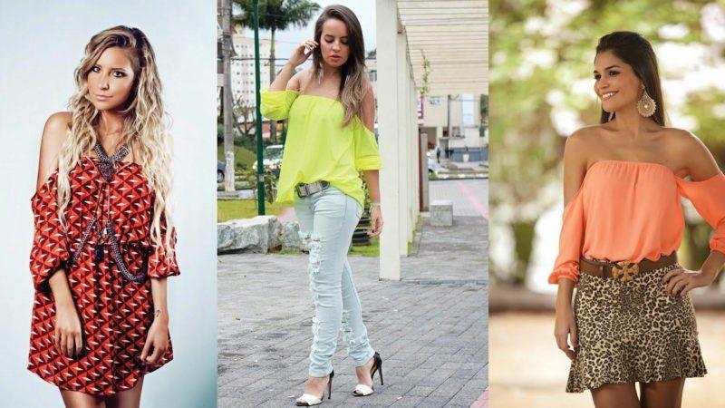 Lindas Blusinhas de verão que vestem bem com qualquer outra peça