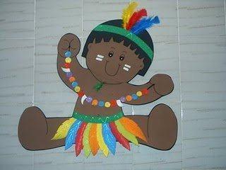 artesanato em eva para dia do indio dicas