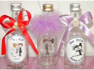 lembrancinhas de garrafinhas personalizadas para casamento