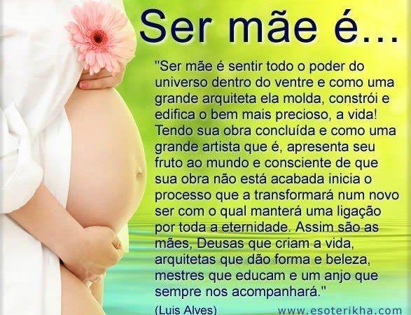 Belas e lindas Mensagens para Dia das Mães
