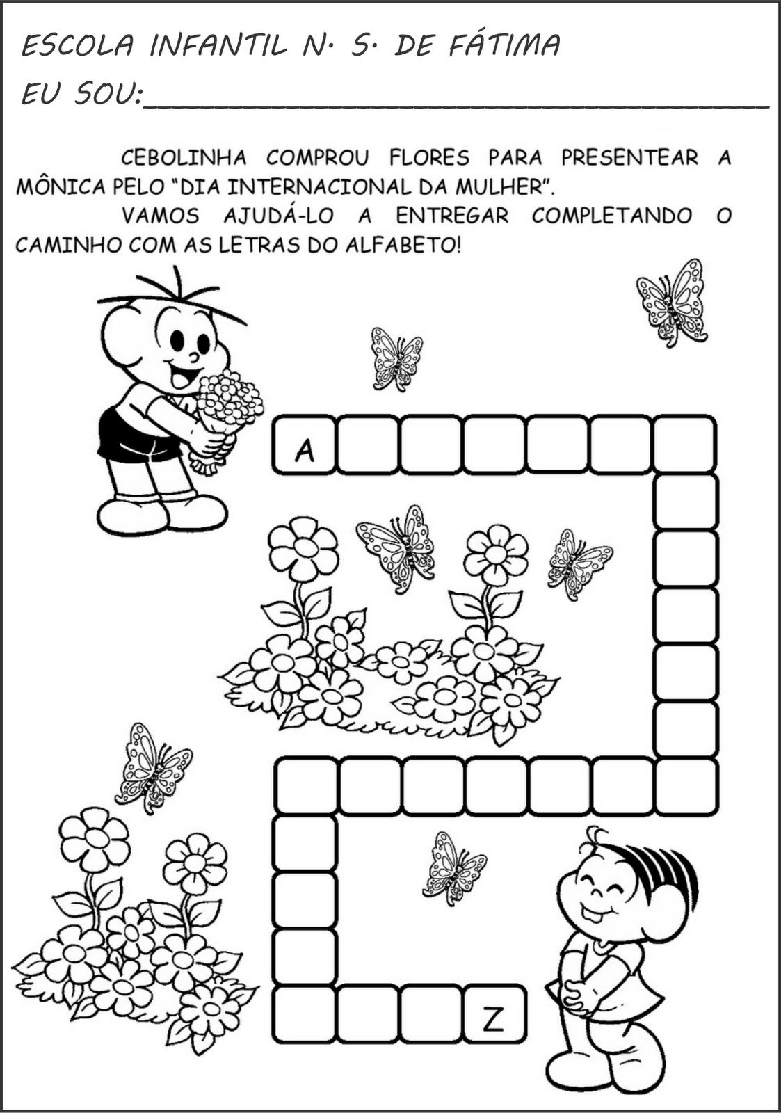 Favoritos Confira dicas de atividades escolares do ALFABETO | Na Internet QN65