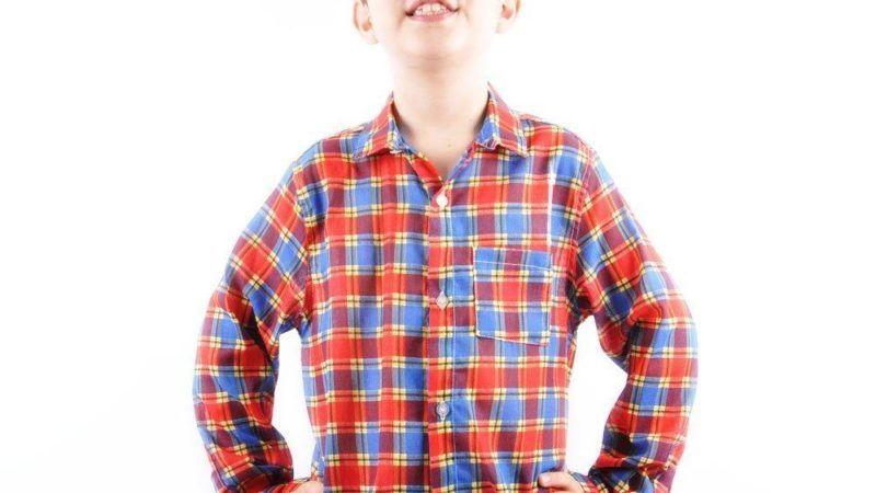 Camisa xadrez para festa junina infantil