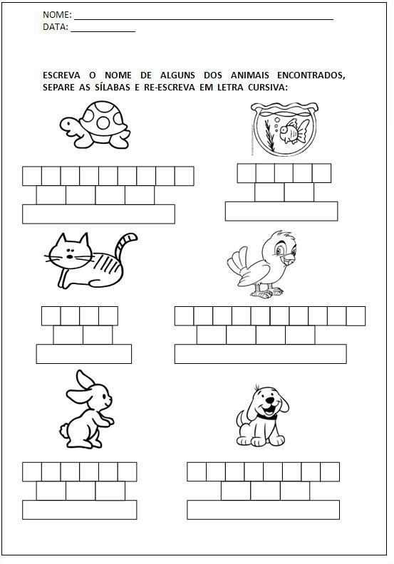 Top Atividades para aprender a ler para imprimir | Na Internet GO41