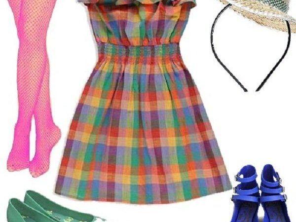 Vestidos xadrez para festa junina que são moda