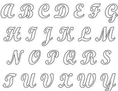 ... moldes de letras, seja nas livrarias diversas ou mesmo nos sites da
