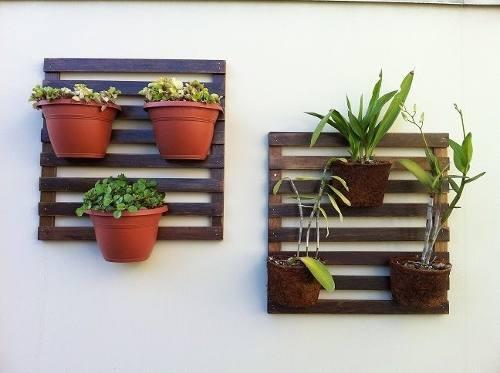 jardim deck de madeira:Deck de madeira para jardim vertical para flores