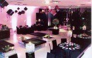 decoracao de festa de 15 anos branco preto e rosa