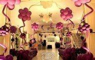 decoracao de festa de 15 anos com baloes