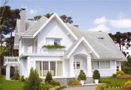 Modelos de casas fachadas modernas na internet for Casa modelo americano