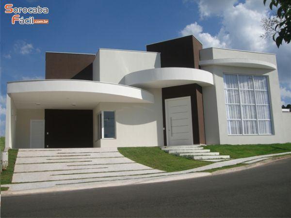 Modelos de casas fachadas modernas na internet for Casa moderna americana