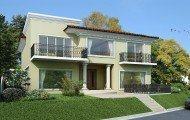 fachadas de casas para venda