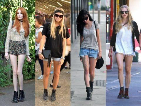 Como Usar Bota Coturno Feminina Com Saia Shorts Calca E Vestido