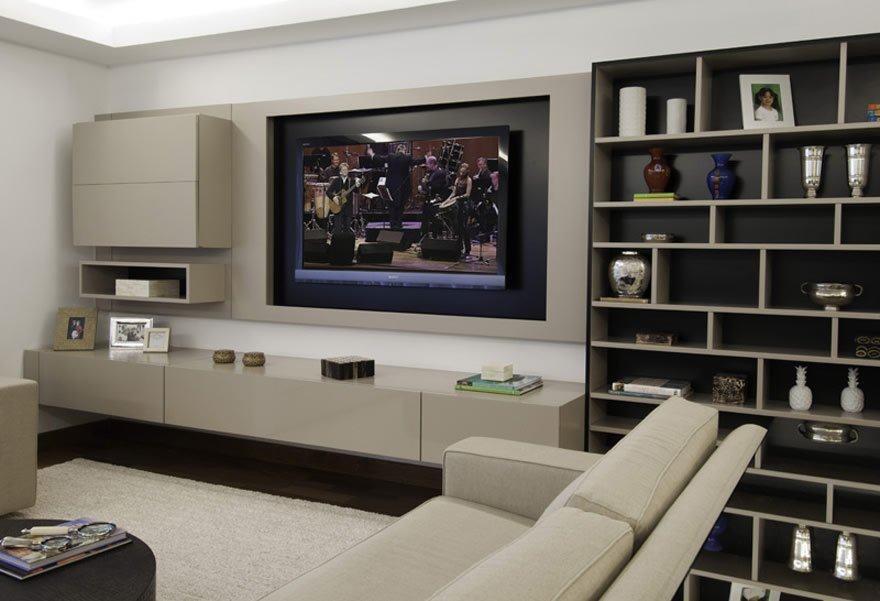imagens de moveis planejados para sala de tv