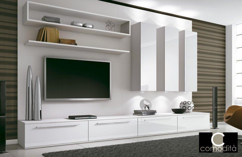 M veis planejados para sala de tv com bom gosto confira as - Armarios para sala de estar ...