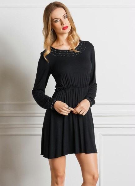 vestido-de-malha-curto-manga-longa