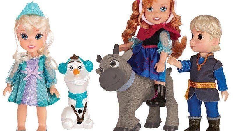 Modelos de bonecos Frozen para crianças que curtem o filminho