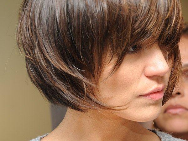 modelos de cabelos curtos desfiado