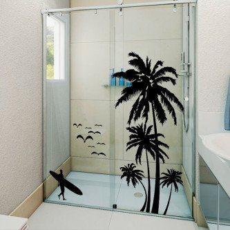 adesivos decorativos para box banheiro