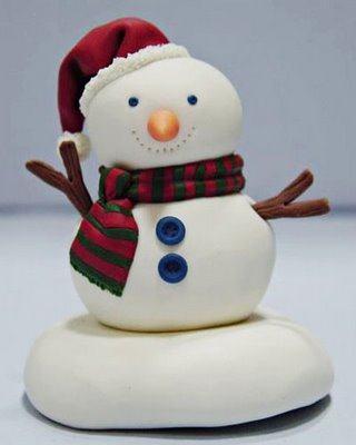 belas lembrancinhas natalinas em biscuit