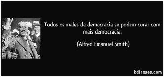 dicas de frases para o dia da democracia