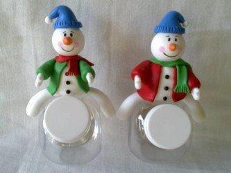 dicas de moldes de lembrancinhas natalinas em biscuit