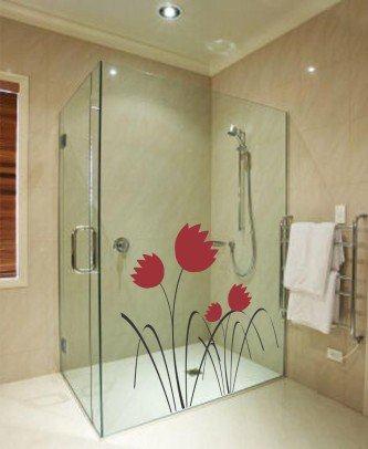 fotos de adesivos decorativos para vidros