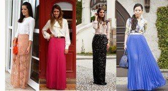fotos de vestidos longos de ir a igreja