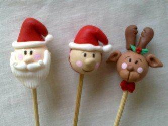 lembrancinhas natalinas em biscuit