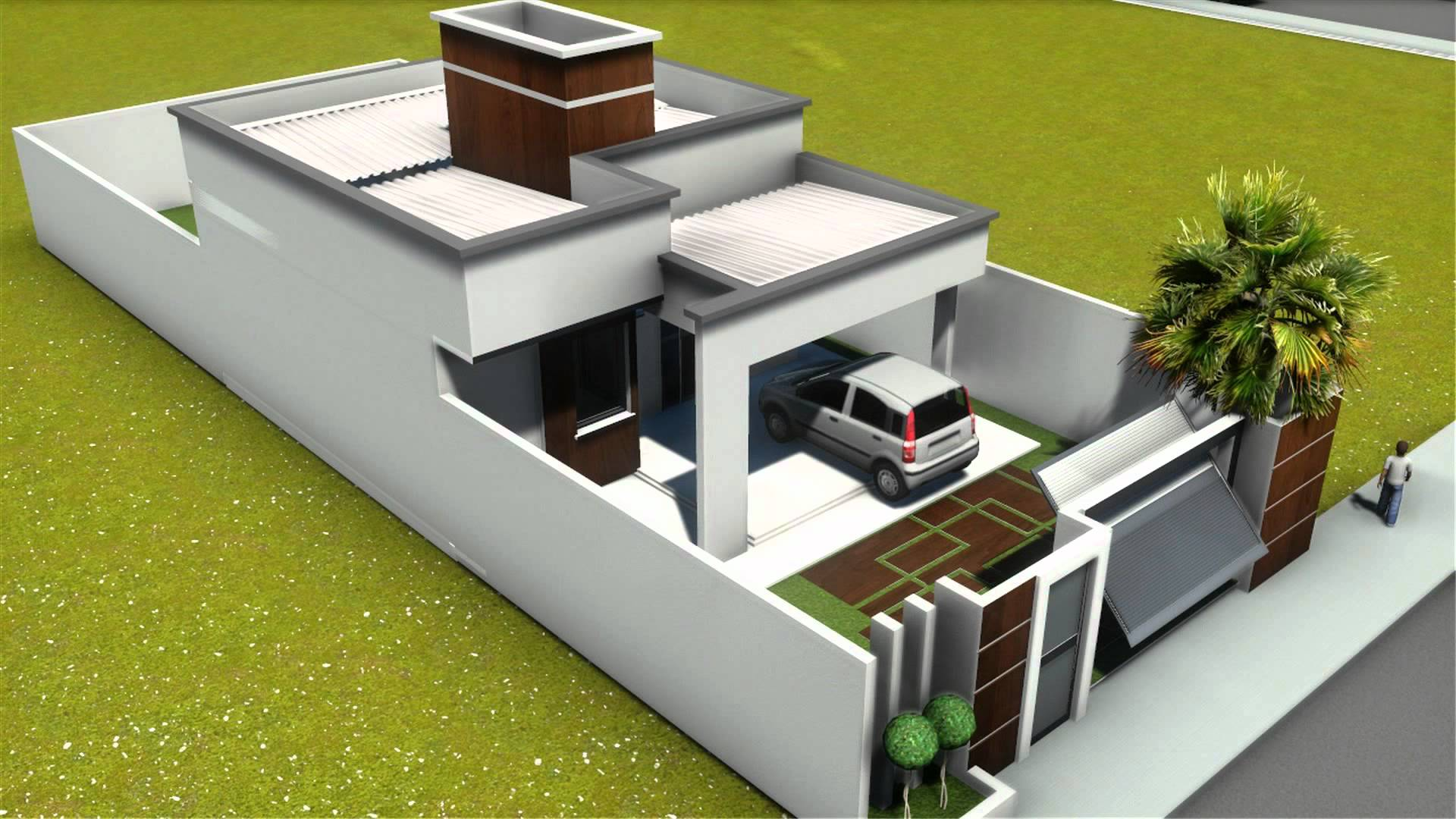 Modelos de Plantas de casas 70m2 com 2 quartos Na Internet #8B9022 1920 1080