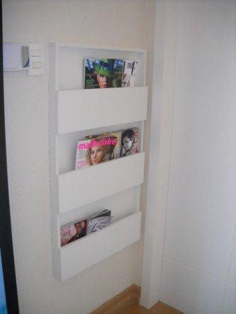 revisteiros de parede para sala de espera