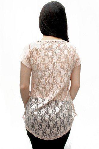 blusa de renda nas costas branca