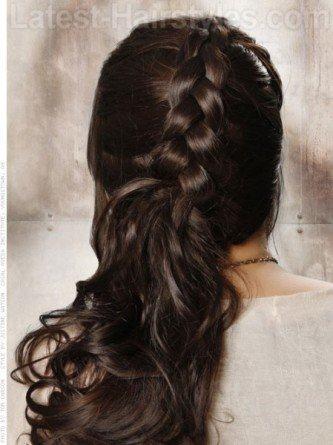 fotos de penteados de festa semi presos