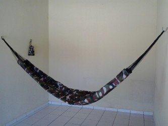 fotos de rede de dormir camuflada