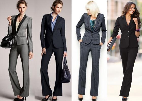 Terninho feminino com saia ou calça modelos formais