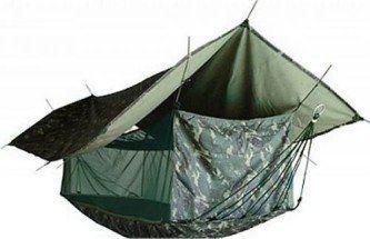 rede de dormir camuflada barraca