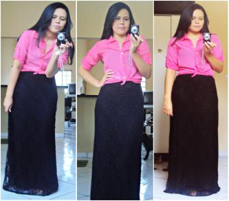 blusinhas para usar na igreja com saia longa