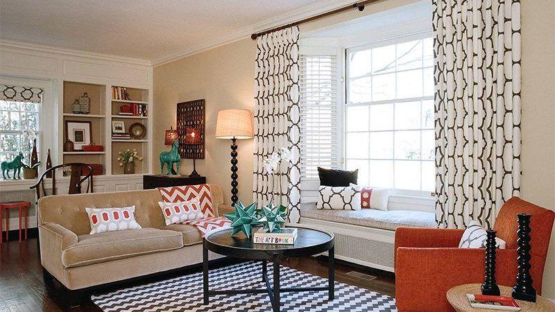 Modelos de CORTINAS para sala de estar modernas para você escolher
