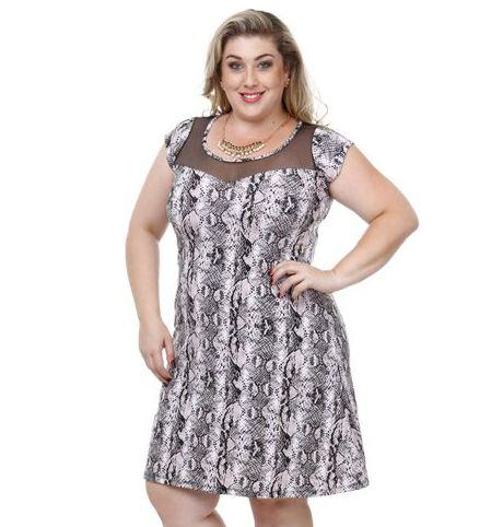 dicas de vestidos de malha para gordas