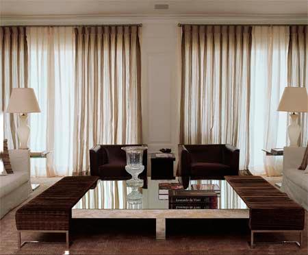 Modelos de cortinas para sala de estar modernas para voc for Sala de estar imagenes