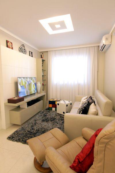 Sala de estar pequena decora o para otimizar o ambiente for Sala de estar funcional