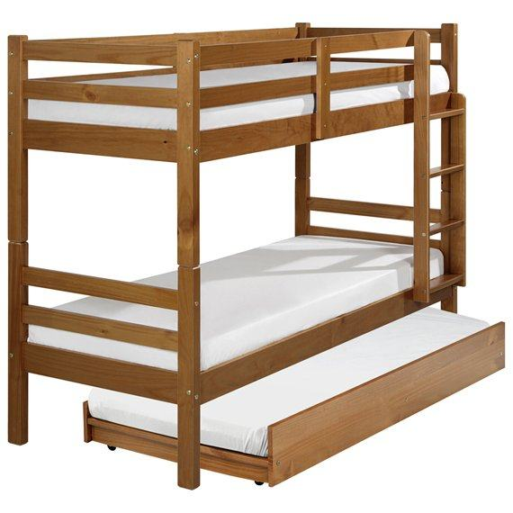 Cama beliche de madeira op es em m veis mais resistentes for Tipos de cama