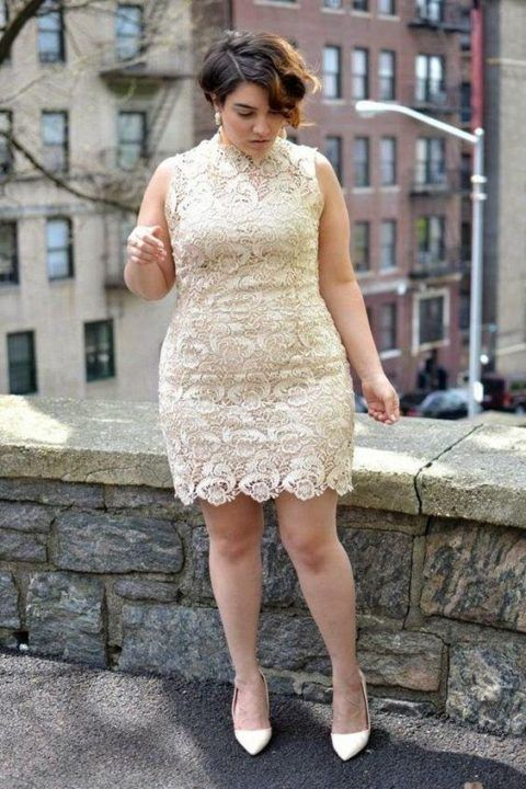 vestidos-curtos-para-gordas-em-renda