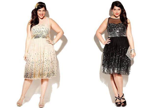 Vestidos curtos para festa de casamento para gordas