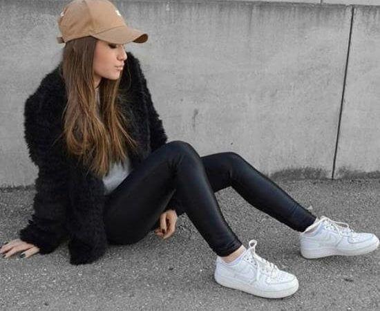Jeitos de usar tênis branco feminino Nike e Adidas