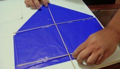 como fazer uma pipa maneira simples
