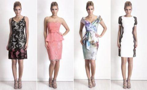 modelos modernos de vestidos de festa pata senhoras de 50 anos