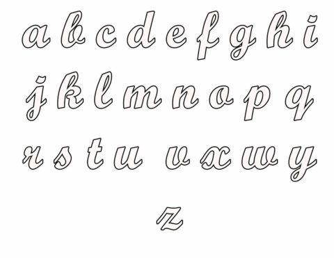Moldes De Letras Em Eva Para Imprimir E Trabalhar