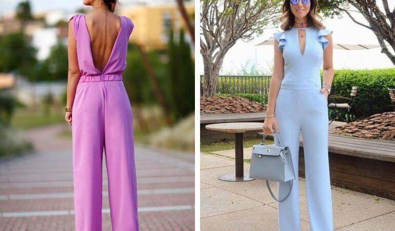 Macacão feminino para sair e Festas moda feminina para sair