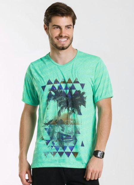 camiseta-estampada-verde
