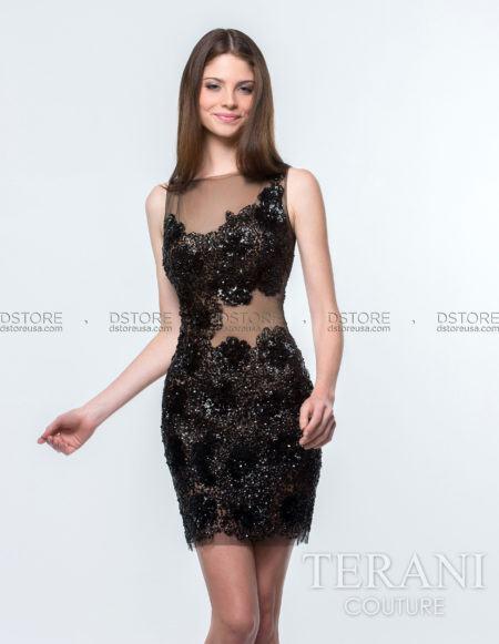 vestido-curto-para-festa-modelo-tubinho-com-tule